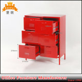 Diseño moderno Mobiliario de casa 6 Cajones Armario metálico