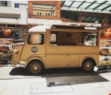 販売のための型の食糧トラックか移動式食糧アウトレット