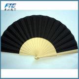 A mão de madeira ventila ventiladores de dobramento do ventilador Foldable de madeira feito sob encomenda