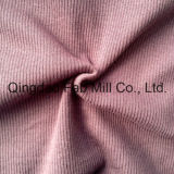 Poli/Rayon/spandex tecido tricô costela 2X2