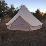 100%の昇進の防水綿のキャンバスグループのGlampingのテント