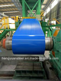 PPGIは電流を通された鋼鉄コイルPPGLカラーによって塗られたアルミニウムで処理された亜鉛シートをPrepainted