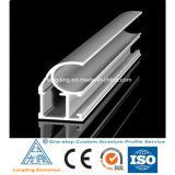 Perfil de alumínio feito sob encomenda da fábrica para a porta e o indicador de alumínio