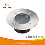 3V 0.1W IP67 inducción LED luz solar con ce RoHS