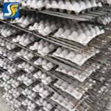 El material agrícola del huevo o la bandeja del huevo que forma el equipo usado para el papel usado recicla la fábrica