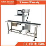 Belüftung-Glasgummiacrylonlinegravierfräsmaschine CO2 LaserEngraver 30W 60W