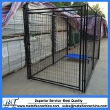 電流を通された鋼線の網犬の犬小屋モジュラー犬の犬小屋