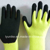 Промышленные Терри Napping накладки латексные перчатки руки