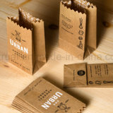L'abitudine ha stampato il sacco di carta di acquisto dell'imballaggio dell'elemento portante del regalo di lusso della maniglia