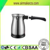 Générateur de café électrique de turc d'acier inoxydable de vente chaude