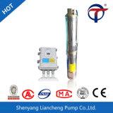 Pompe solaire submersible actionnée parélectricité 4 pouces