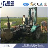 トラクターの井戸の掘削装置機械を運転しているHf100tの上の中国の上の製造者