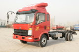 Chinese Sinotruk HOWO 4X2 Diesel Light Duty Light Cargo liner Truck