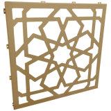 Панель алюминиевой панели картины цветка высеканная конструкцией Perforated алюминиевая