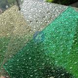 Hoja de diamante de policarbonato de plástico sólido en relieve