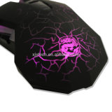 Profesional 6 botones ajustable 3600 Dpi con cable óptico USB Gaming Mouse