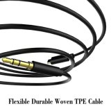 3.5mmの男性の拡張ヘッドホーンの可聴周波ステレオのコードのアダプターケーブルに3.5mm可聴周波補助のジャックのアダプターUSB Cの男性にCをタイプしなさい