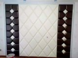3D PUの現代室内装飾のための革壁パネル