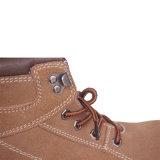 ブラウンの鋼鉄最下の鋼鉄つま先の安全靴