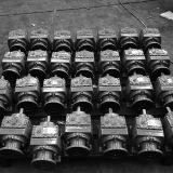 La venta caliente cose el reductor de velocidad eléctrico helicoidal del motor con engranajes del reductor del eje del paralelo de la serie S del montaje