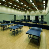 Ittf Bescheinigungs-Qualität preiswerter Innen-Belüftung-Sport-Rollenfußboden