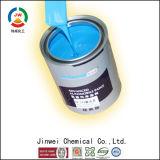 Água de Jinwei - brilho baseado na pintura de borracha removível escura