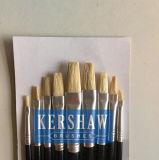 Artiste Brush (ARTIST PAINTING BRUSH FLAT HEAD 9-PCS SET, blanchissent le brin blanc et le traitement en bois)