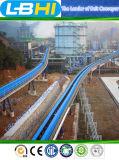 Hightech- Typisch-Projekt gebogene Langstreckenbandförderer