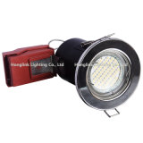 5W GU10 LED BS476 Projecteur de plafond encastré à incendie Downlight