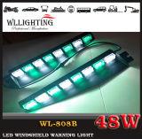 Warnende Frontscheiben-Leuchte des lineares Löschfahrzeug-rote Blau-LED