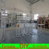 Het ontwerp en past de Opnieuw te gebruiken Cabine van de Tentoonstelling van het Aluminium Draagbare Modulaire aan