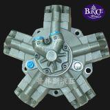 Flacher Schlüssel des Radialkolben-hydraulischer MotorNhm6-500