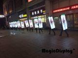 Magic подписать с единичным параметром Блок освещения для рекламы