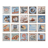 De ceramiektegel van het Patroon van de Stijl van het Strand van de vakantie voor de Woonkamer van de Keuken van de Badkamers
