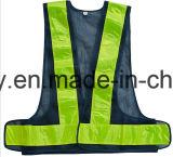 Tráfico de alta visibilidad reflectante chaleco de seguridad