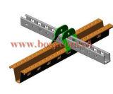 Gebäude-Metallmaterialien StahlStruct Kanal-Rolle, die Produktions-Maschine Singpore bildet