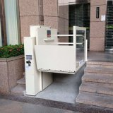 Простота в эксплуатации наиболее востребованных стул гидравлической системы высокого качества на стоящем автомобиле для вертикального подъема для инвалидов с низкой цене