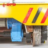 Ingeniería de la industria ferroviaria carro motorizado de Transferencia en línea de producción de cemento