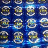 Etiqueta de bebidas aluminizadas