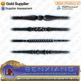 装飾用の錬鉄の機密保護によって電流を通される金属のBalusters