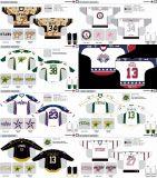 Customized Homens Mulheres Crianças Liga de Hóquei Americana Texas Stars 2009-2016 Hóquei no Gelo Jersey