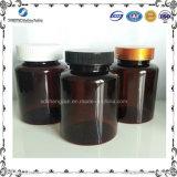 175ml黄褐色のペットプラスチック薬剤の包装/薬のびん