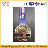 Diseño del cliente el deporte de la medalla de metal para la venta