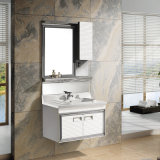 Armário espelhado banheiro da vaidade do banheiro (T-9565)