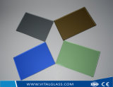Le bronze/clair/a teinté glace en verre/r3fléchissante/glace de flotteur stratifiée par feuille