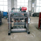Tipo manual pequeno bloco concreto do cimento que faz a máquina