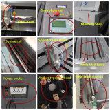 Plexiglas-Laser-Ausschnitt-Maschinen-hölzerne Laser-Gravierfräsmaschine