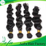Выдвижение человеческих волос Unprocessed девственницы высокого качества бразильское