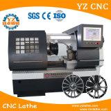 Wrc28 3 세 합금 바퀴 찰상 수선 CNC 선반 바퀴 수선 기계