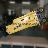 掘削機U35ボックスは販売のためのタイプ油圧ハンマーのブレーカを沈黙させた